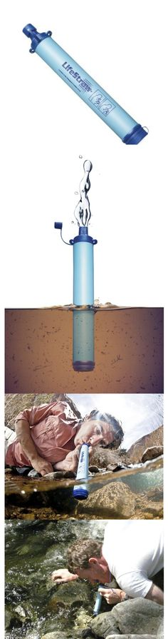 A true lifesaving product, awarded invention of the year by time magazine #lifestraw #product #lifesaving #hiking #water