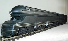 "Raymond Loewy - The PRR S1 experimental steam locomotive (nicknamed ""The Big Engine"") was the largest rigid frame passenger locomotive ever built"