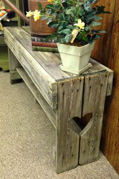 Pallet Projects - Pallet Plant Stand
