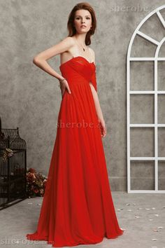 Tendance robes de soirée : Robe de soirée avec zip avec fronce en chiffon fourreaux plissés a-ligne  Pho