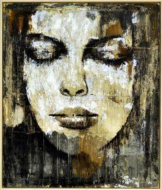 Max Gasparini layered black and white elements of sepia