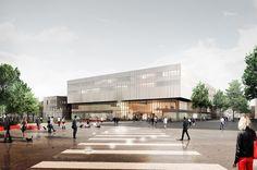 Paris-Saclay campus LabCity building . Paris - Recherche Google