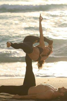Beautiful Partner Yoga with www.jaihealingarts.com