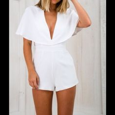 Romper Brand new item!!! Not a copy from China!! Polyester. Cold Hand wash. Other
