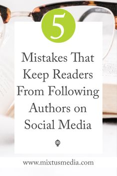 Are you making these mistakes with your social media? You might unknowingly be turning readers away. Find out how to easily fix it!
