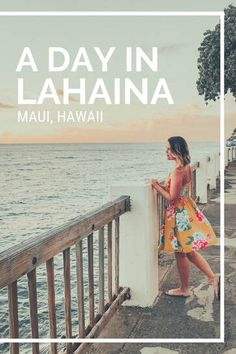 How to spend a day in Lahaina town in Maui, Hawaii including the best shopping and dining. Hawaii Vacation Tips, Trip To Maui, Dream Vacations, Maui Honeymoon, Beach Vacations, Vacation Ideas, Old Lahaina Luau, Lahaina Maui, Maui Hawaii