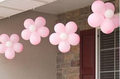 Very cute baby girl shower ideas with mini foods and pretty decor. Very cute baby girl shower ideas Balloon Decorations, Birthday Decorations, Easy Decorations, 1st Birthday Parties, Girl Birthday, Flower Birthday, Birthday Ideas, Helloween Party, Deco Ballon