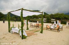 Casamento na praia      Instawedding Instaweding Telão em casamento Casamento criativo instawedding.net