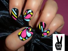lupus  nail art | Fonte: quase de vidro / Supa Nails