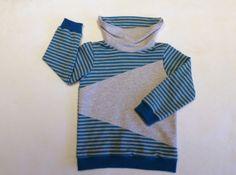 Sweater Hoodie für Kinder nähen: LongiHood von erbsenprinzessin.com