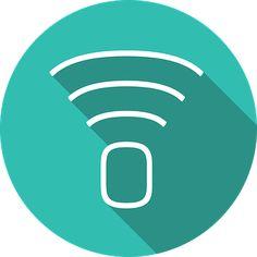Logo, Wifi, Icon, Signal