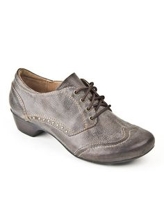 Love this Chocolate Macarena Oxford by Taos Footwear on #zulily! #zulilyfinds