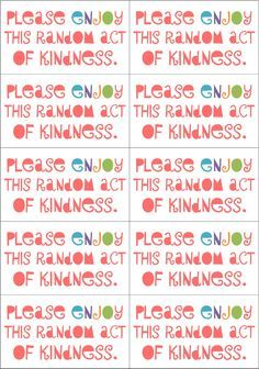 photo regarding Random Act of Kindness Printable identify 12 Excellent Random functions of kindness photographs inside 2013 Kindness