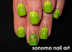 If I ever score a date with Jason Segel - I'll get my nails done this way.  lol