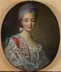 1765 François-Hubert Drouais - Madame Jacques-Benoit Loys