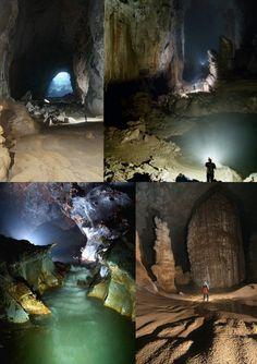 Explore Hang En Cave, Vietnam.