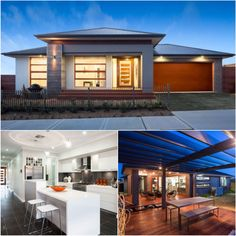Start your new home journey with this gorgeous #HouseDesign from #KurmondHomes. On display in #GledswoodHills! #ModernDesign #Luxury #Modern #Houses #House #HomeDesign #YourHome #Home #NewHome #Kitchen #Alfresco