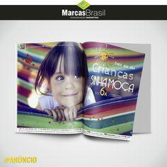 Anúncio – Sinhá Moça > Desenvolvimento de anúncio para revista Evidencia, divulgando o dia das crianças na Sinhá Moça < #anúncio #marcasbrasil #agenciamkt #publicidadeamericana
