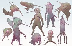 156 Best Creature & Robot Design images | Character design