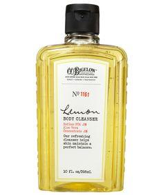 Lemon Body Cleanser, C.O. Bigelow #LibertyBeauty