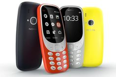 Nokia 3310 is Back!..and a New Range Nokia of Smartphones