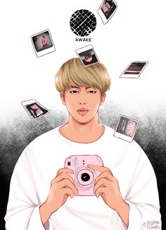 credit: bloominflowers ~ JIN #AWAKE #WINGS7