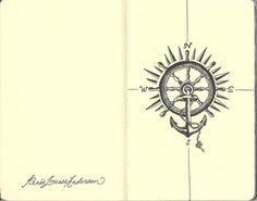 a nice combo of the nautical compass and anchor concept. I'd like to take this idea and also incorporate the CROSS into the anchor and compass designs ... and add Hebrews 6:19 with it ...