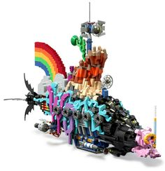 The LEGO Movie Master Builder's Submarine by tormentalous, via Flickr