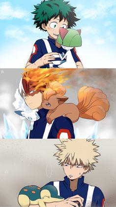 so cuteee! | My Hero Academia X Pokémon