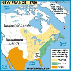 Developed slowly Nice relationship with Natives American Fur trade with Native France colonists don't want to claim Natives land