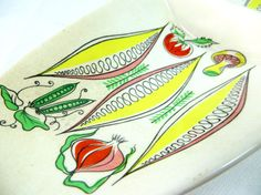 Mid Century Serving Dish Midmod Retro Kitsch James by keepsies
