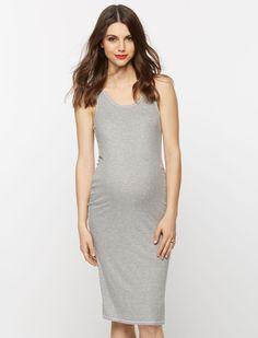 A Pea in the Pod Sleeveless Racerback Maternity Dress