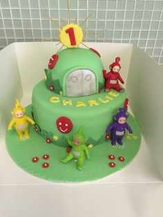 Teletubbies cake I made