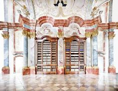 Benediktinerstift Altenburg III 2014. This fabulously detailed, inventive fresco is the work of 18th-century Austrian artist Paul Troger, whose paintings decorate many of Altenburg Abbey's lofty rooms. Together, these works comprise his most ambitious project.