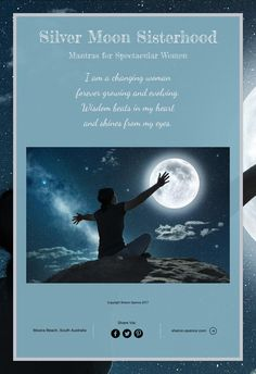 Silver Moon Sisterhood Mantras for Spectacular Women