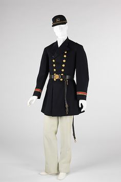 "1863 Portuguese-made Military uniform at the Metropolitan Museum of Art, New York - From the curators' comments: ""This military ensemble of Portuguese make, dates to the Civil War. Cut in the style of the period, its European manufacture suggests the possibility of foreign imports for the North during that time."""