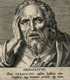 "Heraclitus of Ephesus (l. c. 500 BCE) famously claimed that ""life is flux"" and, although he seems to have thought this observation would be clear to all, people have continued to resist change from his time to the present day. Heraclitus was one of the early Pre-Socratic philosophers, so named because they pre-date Socrates, considered the Father of Western Philosophy. The early Pre-Socratics focused on identifying the First Cause of creation – that element or energy that set all of creation… Kathleen Freeman, Greek Phrases, Philosophical Thoughts, History Encyclopedia, Thunder And Lightning, Ephesus, World Images, Ancient Greece, Natural World"
