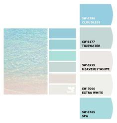 "Paint colors from Chip It! by Sherwin-Williams ""TIDEWATER"" ONE OF MY FAVORITE BLUES, FRONT DOOR COLOR?"