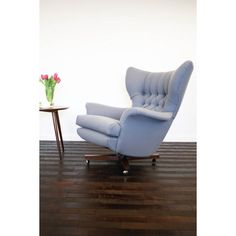 G plan swivel chair | Johnny Moustache | Vintage And Contemporary Furniture & Homewares Just need a cat!.....then I can pretend I'm a Bond villain!
