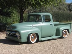 1956 ford truck, hot rod, rat rod, 1955, 1954, 1953, custom, satin paint