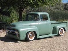 1956 ford truck, hot rod, rat rod, 1955, 1954, 1953, custom, satin paint