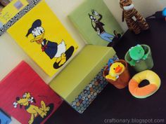 Kids room wall art - Craftionary