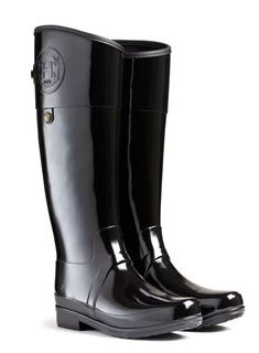 ad75dd040ee Sandhurst Carlyle Wellington boot by Hunter Black Hunter Boots