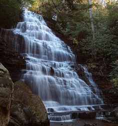 There are over 200 falls in East TN. I could post all day. This is Benton falls.