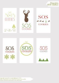 Etiquettes SOS Cookies