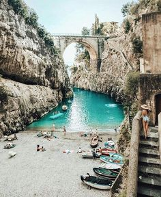 """880 Likes, 7 Comments - @through_italy on Instagram: """"Fiordo di Furore Try to discover all the small beaches in Italy. You will find amazing place where…"""""""