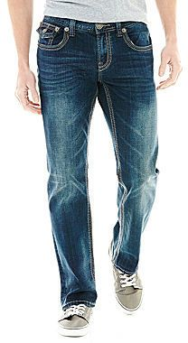 Get your denim up to date with these stretch-easy, slim-fit jeans from Seven7, featuring coin and back flap pockets and an instantly worn in appeal. sits lower on waist slim fit through seat and thigh zip front with button closure 2 front scoop pockets with coin pocket back flap pockets straight leg cotton/spandex machine wash,...  Price : 74.00$ Sale Off Price: 39.99$