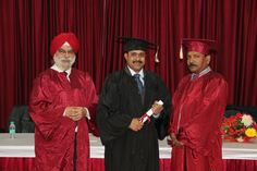 Dr. Patnana Bhanu Prakash receiving certificate of  Diploma in Minimal Access Surgery at World Laparoscopy Hospital. For more detail please log on to www.laparoscopyhospital.com
