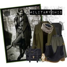 Designer Clothes, Shoes & Bags for Women Military Chic, Shoe Bag, Polyvore, Boards, Stuff To Buy, Shopping, Collection, Shoes, Design