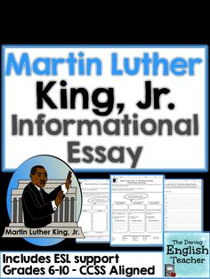 persavive essays martin luther king day This writing bundle has 4 complete essay prompts (argumentative, expository , persuasive, and narrative) with differentiated and enrichment.